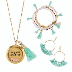 Origami Owl Kindness Matters Gift Set - NEW